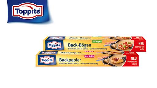 Bild für Cashback-Angebot: Toppits Backpapier Rolle oder Backpapier Bögen - Toppits