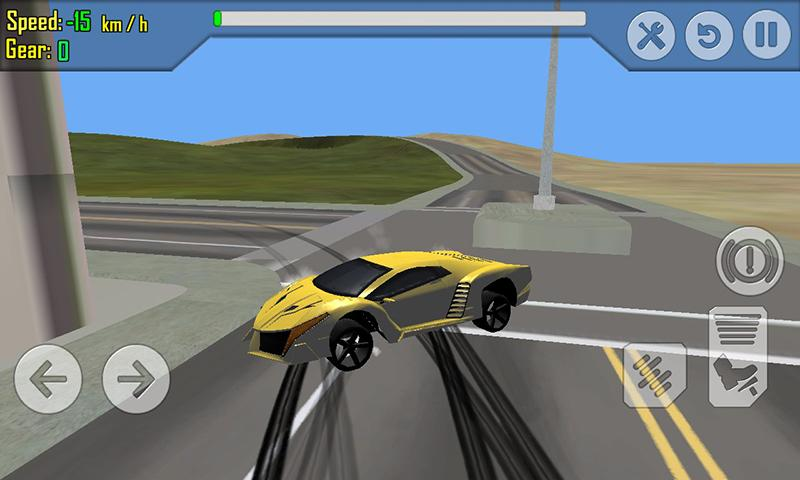 android Car Racing Simulator Driving Screenshot 4