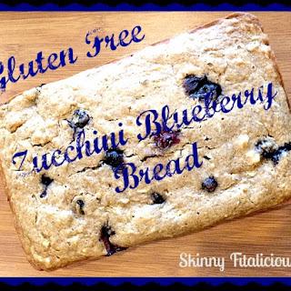 Gluten Free Zucchini Blueberry Bread