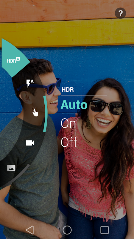 Motorola Camera screenshots