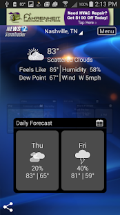 WKRN WX - Nashville weather- screenshot thumbnail