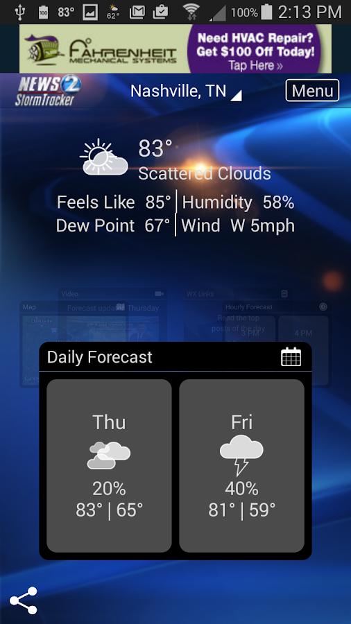 WKRN WX - Nashville weather- screenshot