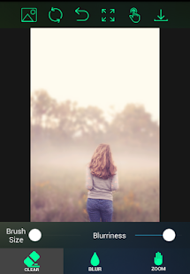 Blur Image Editor de fondo (Blur Photo Editor) Screenshot