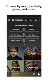 Rhapsody Music Player Screenshot 4