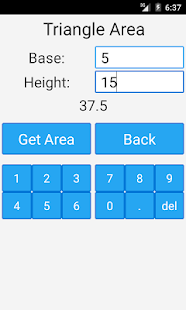 Area and Volume Calculator- screenshot thumbnail