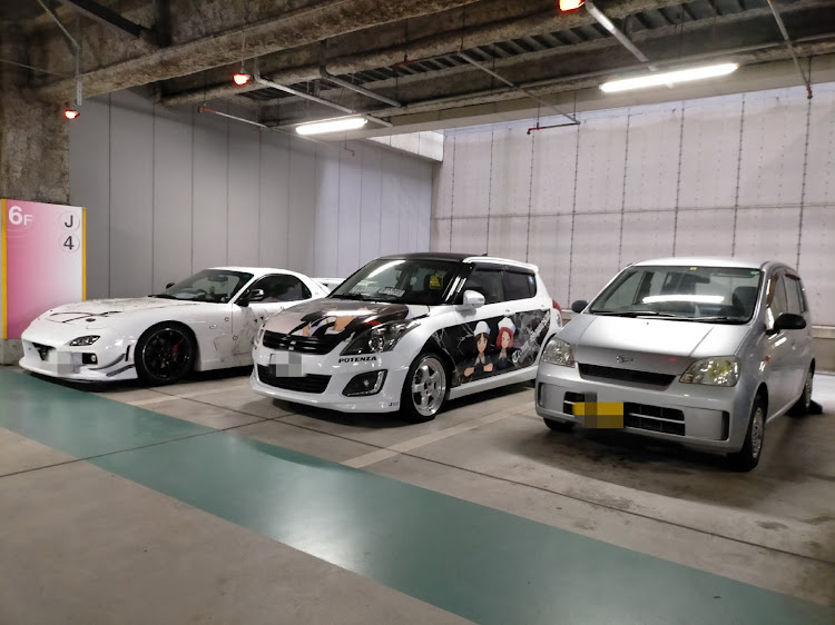 ミラ L250Sの17クラウン,ガールズ&パンツァー,北九州,痛車,アニメに関するカスタム&メンテナンスの投稿画像4枚目