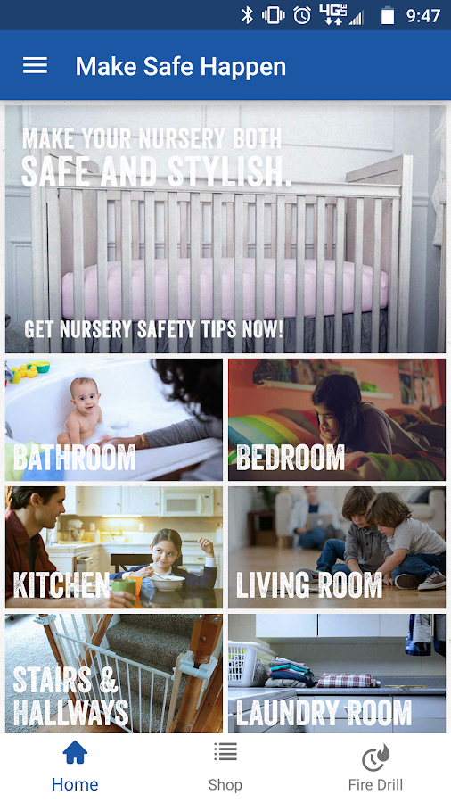 Make Safe Happen Home Safety- screenshot