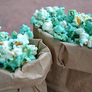 EASY Candied Popcorn.