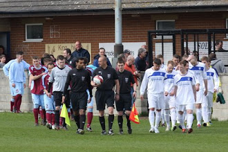 Photo: 27/04/13 v Hemsworth Miners Welfare (Northern Counties East League Division 1) 1-2 - contributed by Rob Campion