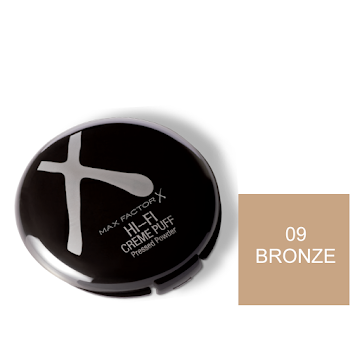 Oferta Polvo Max Factor   Creme Puff Deluxe Bronze X1Und. Pr. Especial