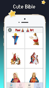 Download Bible coloring pages : Holy book color For PC Windows and Mac apk screenshot 2