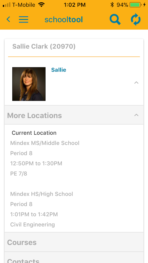 schooltool Mobile- screenshot