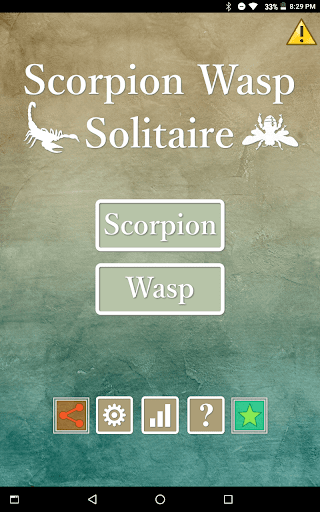 Scorpion Wasp Solitaire 1.0.0 screenshots 4