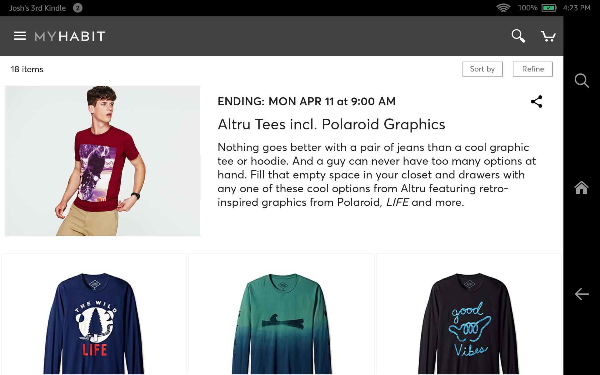 MyHabit – Designer Brands screenshot #7