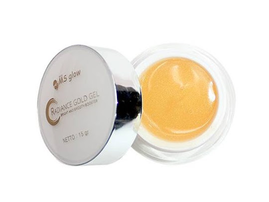 Radiance Gel NEW MSGLOW Cream MS Glow Radiance Gold whitening booster menghaluskan wajah alas makeup