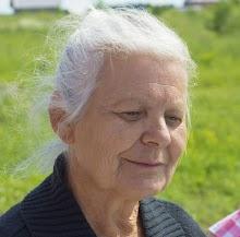 Porträt einer alten Frau.