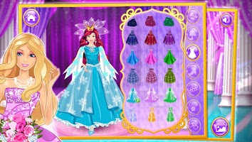 Screenshot of Beautiful bride dressup