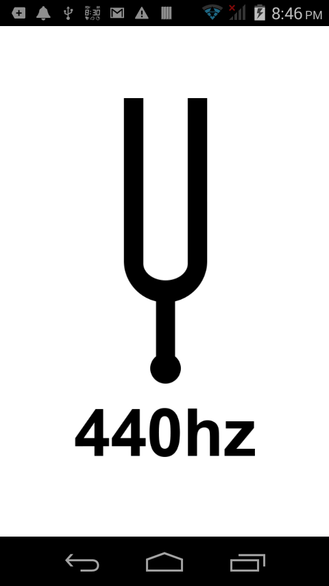 Tuning Fork 440Hz- screenshot