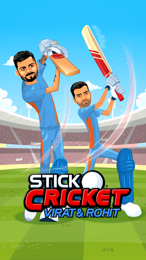 Stick Cricket Virat and Rohit Apps (apk) free download for Android/PC/Windows screenshot