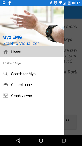 Myo EMG Visualizer