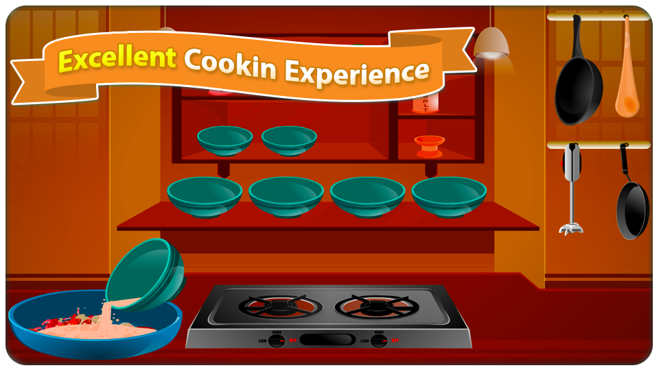 Cooking Chicken Burger- screenshot