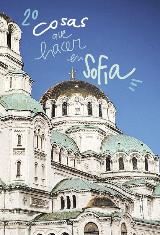 que ver y hacer en Sofía