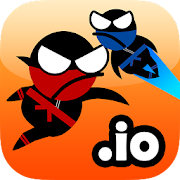 Jumping Ninja io 2 player 2.1