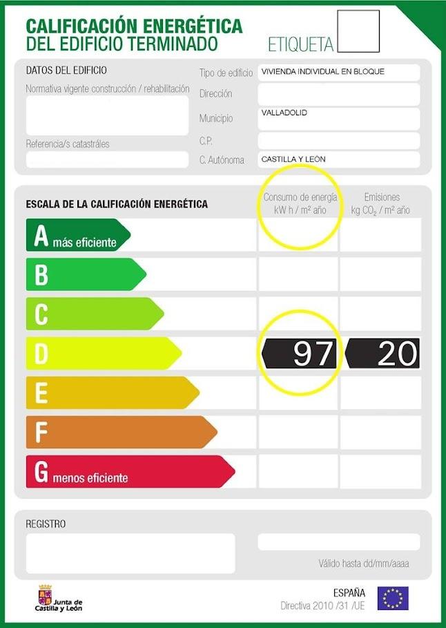 aislamiento termico mejora etiqueta energetica