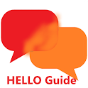 Hello App Discover, Watch Videos, Share Guide icon