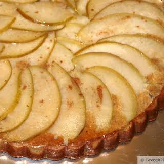 Maple Pear Tart (paleo pear tart).