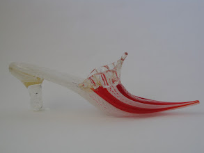 Photo: Zanfirico & Aventurine Glass Shoe