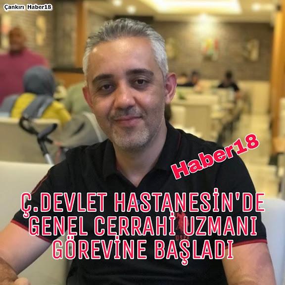 Genel Cerrahi Uzmanı Op. Dr.  Hüseyin Güven, Çankırı Devlet hastanesi