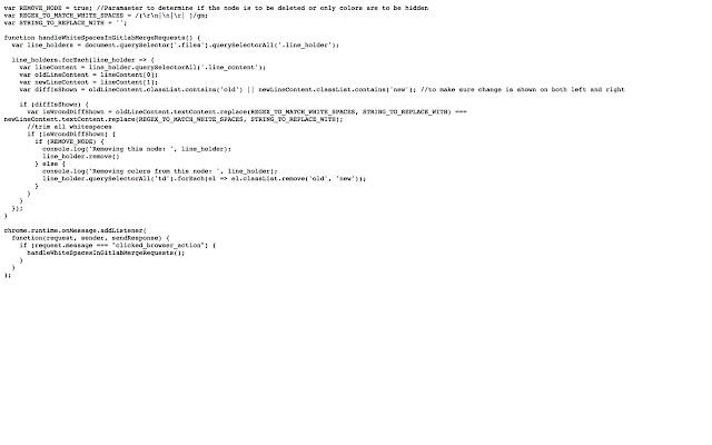 Gitlab Whitespaces remover