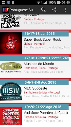 Portuguese Summer Festivals
