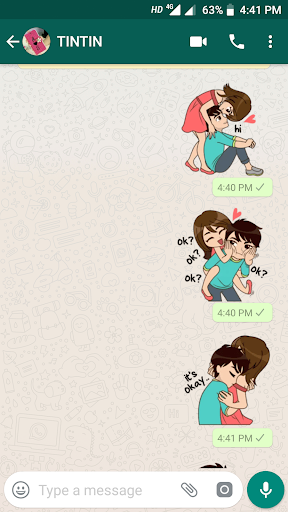 Love Sticker Packs For WhatsApp - WAStickerApps 1.0 screenshots 1