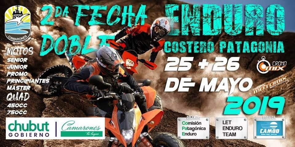Las Motos y los Quad tienen cita en el Enduro de Camarones