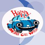 Happy Mobile Car Wash Icon
