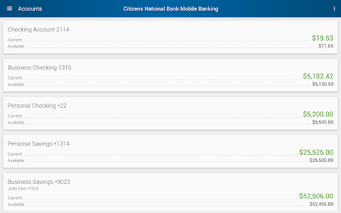 Citizens National Bank Mobile screenshot 10