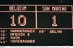 Verzekeren Rode Duivels zich met recordzege tegen San Marino van vierde grote toernooi op rij?