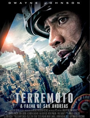 Filme Poster Terremoto - A Falha de San Andreas HDRip XviD Dual Audio & RMVB Dublado ou Legendado