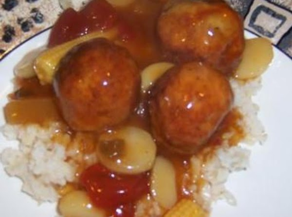 Quick And Tasty Sweet And Sour Meatballs Recipe