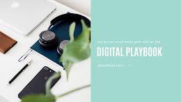 Digital Playbook - Facebook Cover Photo item