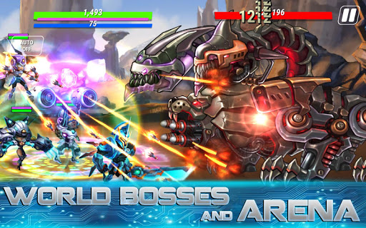 Heroes Infinity: God Warriors -Action RPG Strategy 1.20.2 screenshots 8