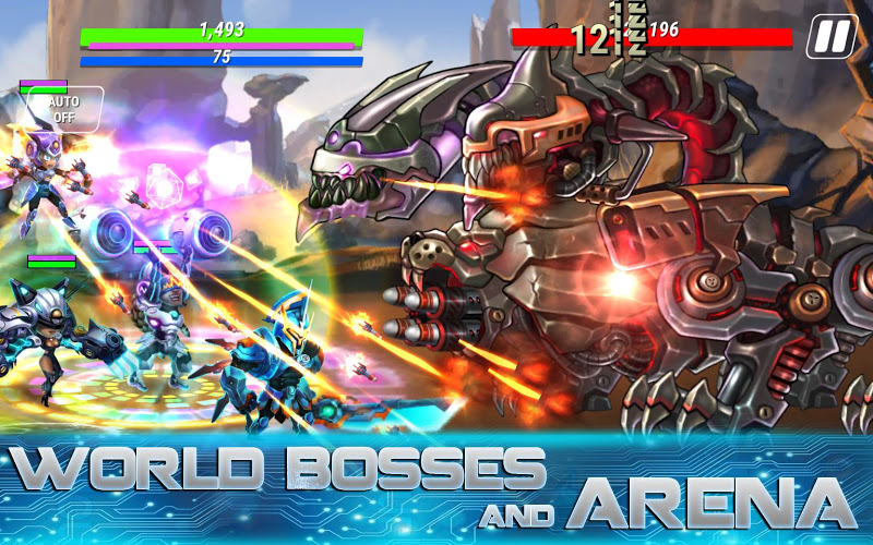 Heroes Infinity: God Warriors -Action RPG Strategy Screenshot 7