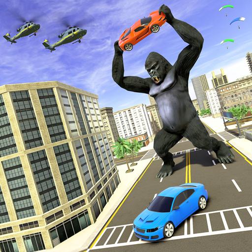 Baixar Gorilla Smasher Big Foot 2020: Monster Rampage para Android