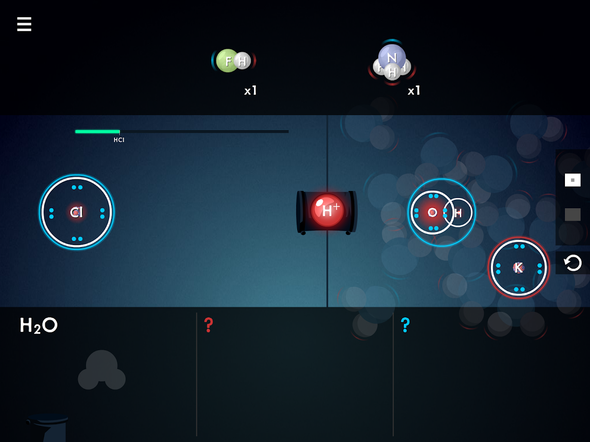 Collisions: Play Chemistry- screenshot