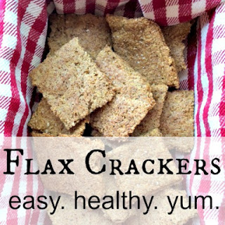 Flax Crackers - Easy and Healthy Gluten-Free Snack