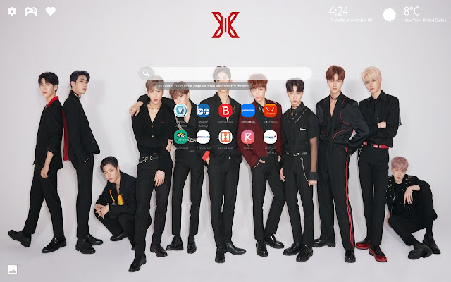 X1 Kpop HD Wallpapers New Tab