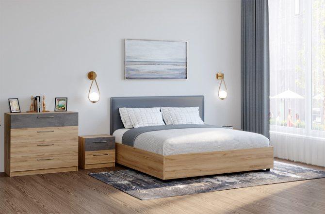 Кровать из дсп дизайн идеи