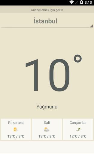 Türkiye Hava Durumu